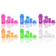 Антиколиковые бутылочки для кормления Twistshake 180 мл