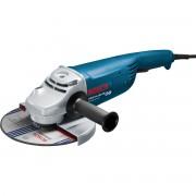 Polizor unghiular Bosch Professional GWS 24-180 JH, 2400 W, 8500 rpm, Diametru disc 180 mm, Albastru, 0601883M03