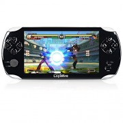 "Handheld Game Console, Loyalfire Game Player with 5"" 64-bit LED Lights 8GB System Portable Video Games, Supports Multiple File Formats, for Birthday Gifts Boys Kids Children Toys"
