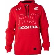 Fox Honda Pullover Fleece Sudadera con capucha Rojo M