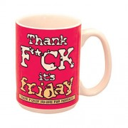 """Thank F*ck Its Friday Mug"""