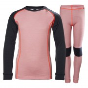 Helly Hansen Jr Hh Lifa Merino Set 164/14 Pink