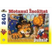 Puzzle Motanul Incaltat 240 piese Noriel