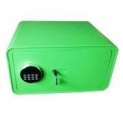 Seif electronic si cheie,verde, 230x430x350mm, Planet Safe HT-23ELDV