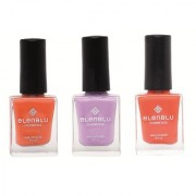 Rustic Decay Princess Rule and Roseate Blush 9.9ml Each Elenblu Matte Nail Polish Set of 3 Nail Polish