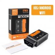 OBD2 Auto scanner | WiFi | Android | IOS | Auto Uitlezen | Auto Diagnose via telefoon | Auto motorlampje uitlezen | Bluetooth alternatief