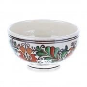 Bol mic ceramica traditionala colorata Corund 12 cm