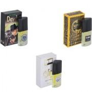 Skyedventures Set of 3 Devdas-Kabra Yellow-Silent love Perfume