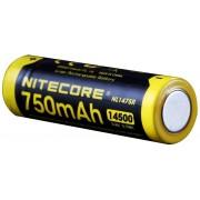 NITECORE 14500 USB Li-Ion batterij 750mAh geel/zwart 2018 Toebehoren