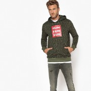 LA REDOUTE COLLECTIONS Bedrucktes Kapuzensweatshirt, Oversized-Ausführung