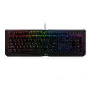 Клавиатура Razer BlackWidow X Chroma, гейминг, механична, подсветка, черна, USB