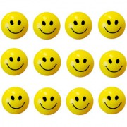 GENERIC Stress Relief Smiley Soft Ball Set of 12 PC