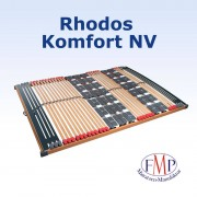 FMP Matratzenmanufaktur 7 Zonen Leisten-Teller Lattenrost Rhodos Komfort NV 80x200 cm