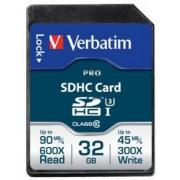 Card de memorie Verbatim SDHC, 32 GB, Clasa 10