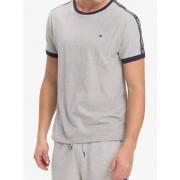 Tommy Hilfiger T-shirt da uomo grigia Tommy Hilfiger RN Tee SS - XL