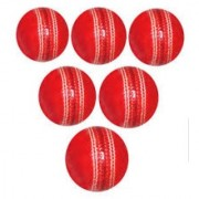 Cricket Leather Ball Pack of 6 (4 piece/part)