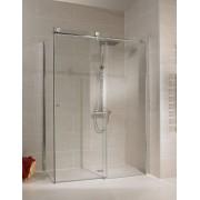 Schulte Home Porte de douche coulissante + paroi latérale 140 x 90 cm, anticalcaire