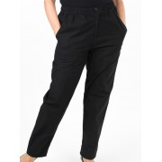 Seniors' Wear Black Ladies Pants - Black 12