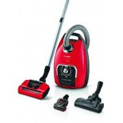Aspirator cu sac Bosch Serie 8 Pro Animal BGL8PET2, 650W, 5 L, Perie universală, Duză AirTurbo Plus, Miniduză AirTurbo, Tornado red