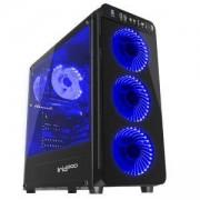 Кутия за компютър Genesis Irid 300 Blue, Midi Tower, 1 x USB 3.0, 2 x HD Audio Jack, 2 x USB 2.0, Fan Control, NPC-1132