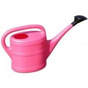 Geli kunststof gieter 5 liter roze