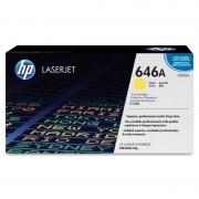 HP 646A Yellow LaserJet Toner Cartridge (CF032A)