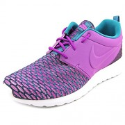 nike roshe NM flyknit PRM mens running trainers 746825 sneakers shoes Violet 10.5 D(M) US