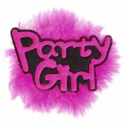Merkloos Bachelorette button vrijgezel Party Girl