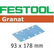 Festool STF GR Slippapper 93x178mm, 50-pack P40