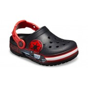 Crocs Fun Lab Darth Vader Lights Klompen Kinder Black 34