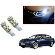 Auto Addict Car T10 9 SMD Headlight LED Bulb for Headlights Parking Light Number Plate Light Indicator Light For BMW 5 Series