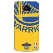 Capinha para Celular NBA - Motorola Moto Z - Golden State Warriors - D10 - Unissex