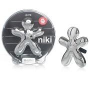 Mr & Mrs Fragrance Niki - lesklá stříbrná - Pure Vůně do auta 1 kus