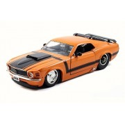 1970 Ford Mustang Boss 429, Orange - JADA 98026 - 1/24 Scale Diecast Model Toy Car
