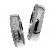 Zlatý snubní prsten Gems Line, 436-0315_0316
