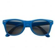 Shoppartners Zonnebril blauw plastic montuur voor volwassenen