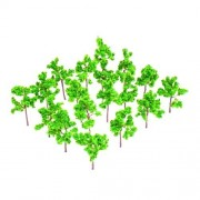 No brand goods 50pcs model for trees building railroad train model tree height 4cm scale / 1: 350 - 1: 400