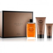 Gucci Guilty Absolute lote de regalo II. eau de parfum 90 ml + bálsamo after shave 50 ml + gel de ducha 150 ml