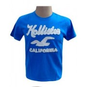 Camiseta Hollister Azul BB Ref 321
