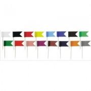 Stegulete colorate, 20/cutie, ALCO - negru