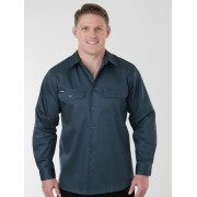 King Gee Open Front Drill Shirt