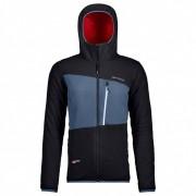 Ortovox - Women's Swisswool Zebru Jacket - Veste en laine taille L, noir/bleu