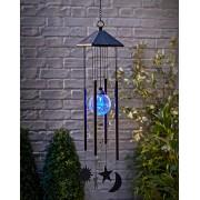 Clopotel de vant cu LED - Soare, Luna, Stele