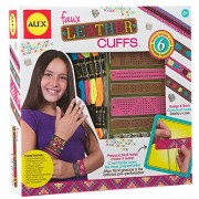 Alex Toys Do It Yourself Wear Faux Leather Cuffs Kit, Multi Color