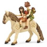 Set figurine Papo - Copii elf si ponei