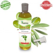 KAZIMA Olive Carrier Oil 200 ML - (Hexane Free) 100 Pure Natural Cold Pressed Carrier Oil Aromatherapy Therapeutic Grade - Ideal for hair loss Treatment Hair Growth Skin Treatment Acne Scars Face Skin Pigmentation Skin lightening Massage and