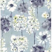 A-Street Prints Astu8# 2656-004002 Marilla Blueberry acuarela floral,
