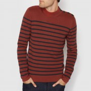 La Redoute Collections Gestreifter Pullover