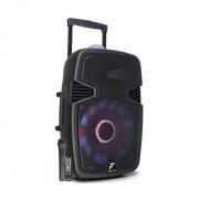 "FT15JB Cassa Attiva 15"" 800W BT/USB/SD/AUX-In LED Jellyball Microfono"