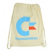United Labels Commodore 64 Gym Bag White Logo